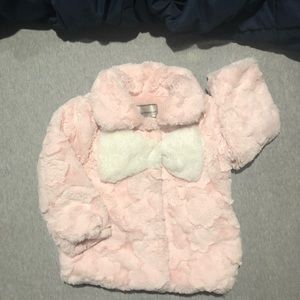 American Widgeon girl faux fur coat